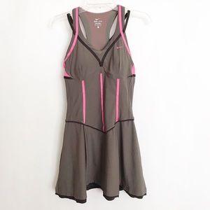 MARIA SHARAPOVA NIKE TENNIS DRESS PINK CORSET Sz M